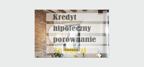 kredyt hipoteczny porównanie 70000 zł