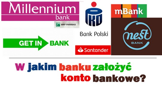 jak i gdzie szybko założyć konto bankowe