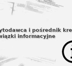obowiązki informacyjne kredytodawców i pośredników kredytowych