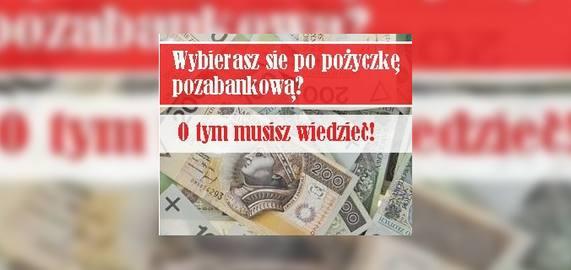 pożyczka pozabankowa przez internet alternatywna konieczność