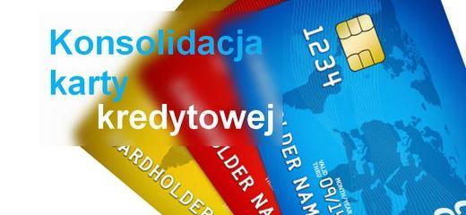 konsolidacja kilku kart kredytowych