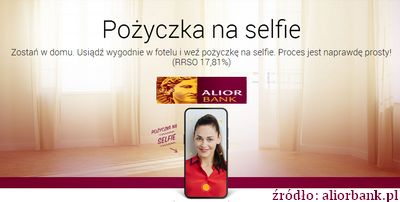 pożyczka gotówkowa w Alior Bank przez internet