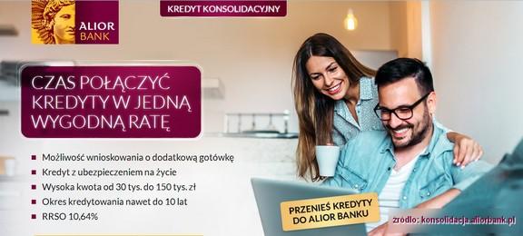 konsolidacja kredytu Alior Bank
