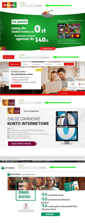 konto w banku - gdzie i jak założyć przez internet bezpieczeństwo