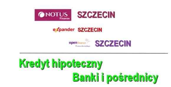 kredyt hipoteczny Szczecin. Banki i pośrednicy