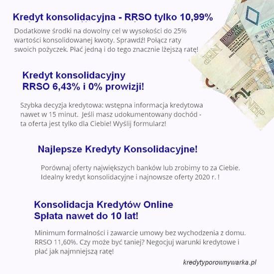 kredyt konsolidacyjny reklamy
