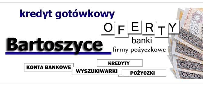 kredyt gotówkowy Bartoszyce