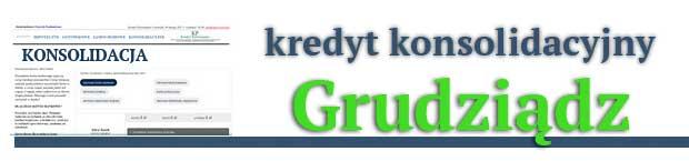kredyt konsolidacyjny Grudziądz
