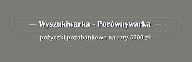 pożyczka pozabankowa 5000 zł na raty