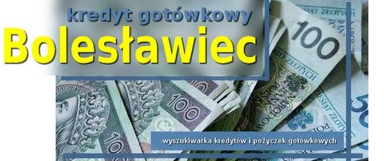 kredyt gotówkowy Bolesławiec