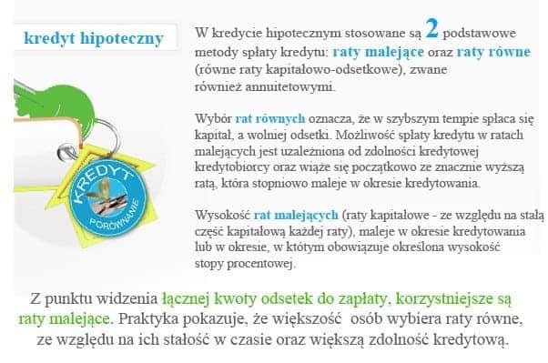 kredyt hipoteczny z doradcą w Warszawie